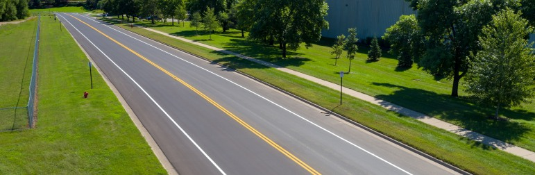 Road Asphalt Paving in Minnesota