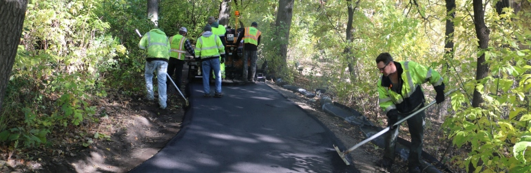Trails and Pathway Asphalt Paving in Minnesota