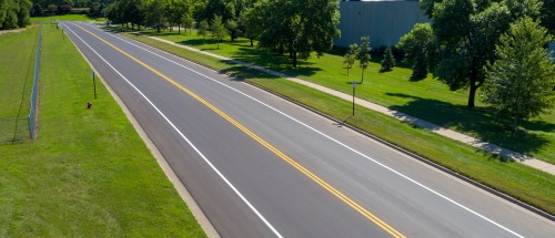 state highway and city street asphalt paving in Minnesota